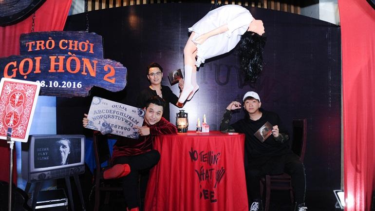 Dàn sao Việt thót tim trong buổi công chiếu Trò Chơi Gọi Hồn 2
