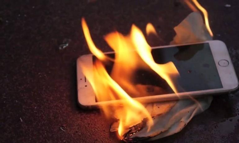 Hết Galaxy Note 7, giờ đến iPhone 7 phát nổ