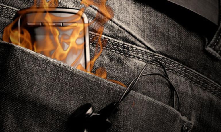 Làm gì khi điện thoại cháy nổ?