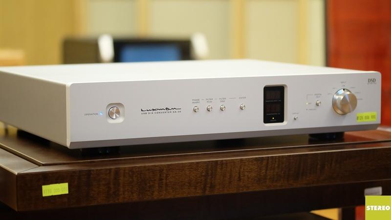 Luxman DA 06: Tương thích mọi file nhạc lossless chuẩn PCM/DSD