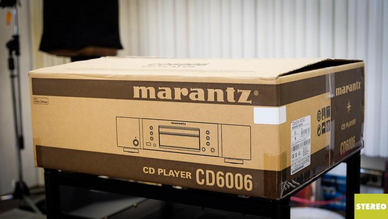 Mở hộp đầu đọc Marantz CD6006: cặp bài trùng dành cho PM6006