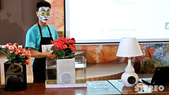 MayBelle ra mắt loạt loa không dây vỏ gốm Made in Việt Nam