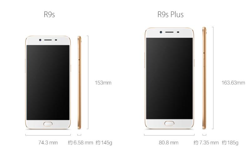 OPPO R9s và R9s Plus ra mắt: Màn hình lớn, camera 16MP, RAM tới 6GB