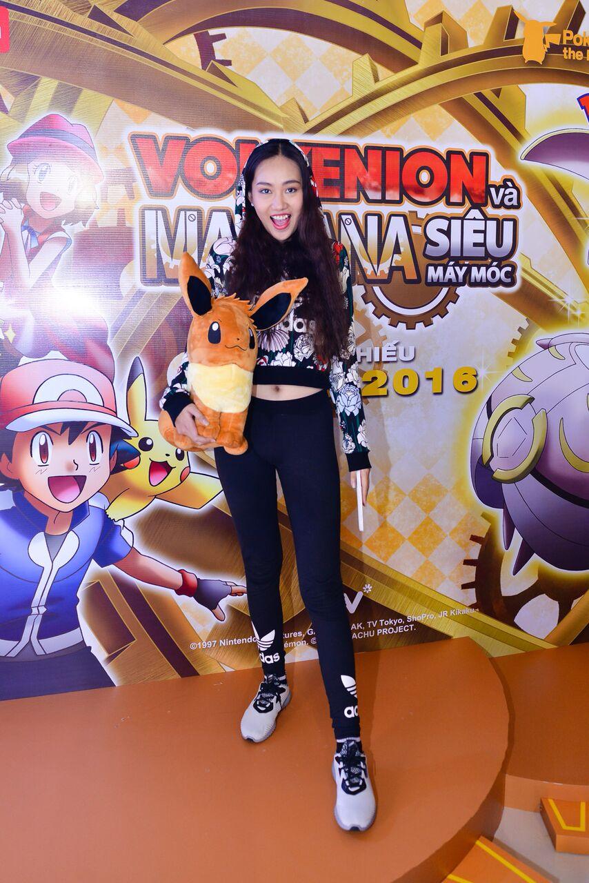 """Sao Việt """"phát cuồng"""" cùng với Pokemon siêu cấp dễ thương"""