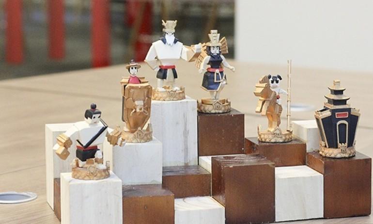 Thánh Gióng, Yết Kiêu, Âu Cơ… xuất hiện trên bàn cờ vua in 3D