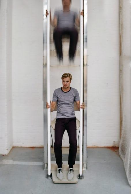 Vertical Walking: Thang máy bộ chỉ tốn cơm chứ không tốn điện