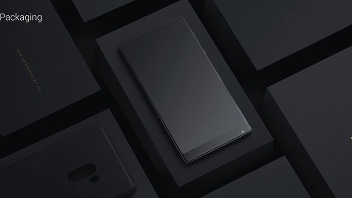 Xiaomi ra mắt smartphone Mi MIX không viền cực chất
