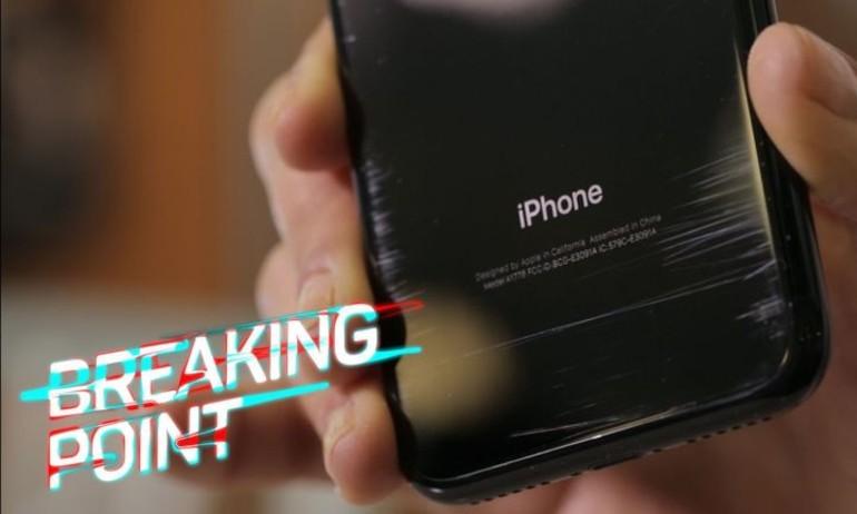 Mặt lưng iPhone 7 Jet Black lại bị tố gia công quá kém