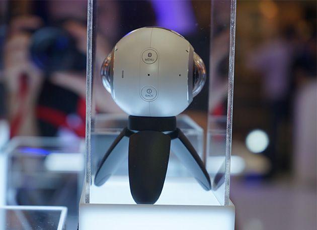 Samsung ra mắt camera Gear 360 tại Việt Nam, giá 6.99 triệu