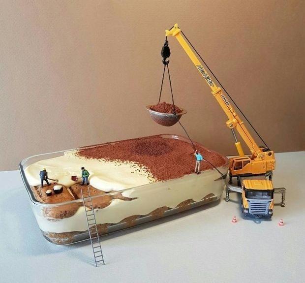 Bạn đã bao giờ thấy bánh kẹo được diễn tả sinh động như thế này chưa?