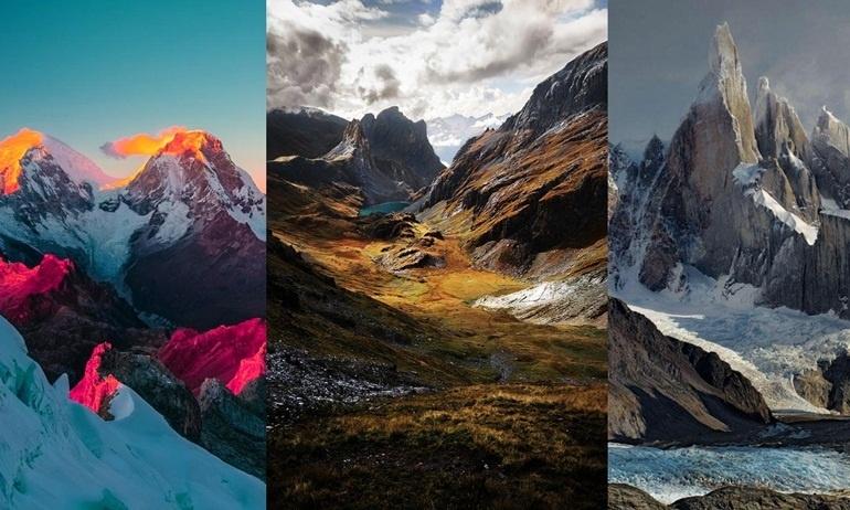 Choáng ngợp trước cảnh sắc hùng vĩ của những dãy núi nổi tiếng