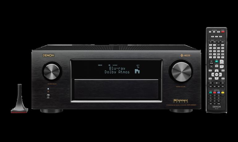 Denon AVR-X4300H - AV receiver cao cấp mới hỗ trợ Dolby Atmos & DTS:X, giá gần 70 triệu đồng