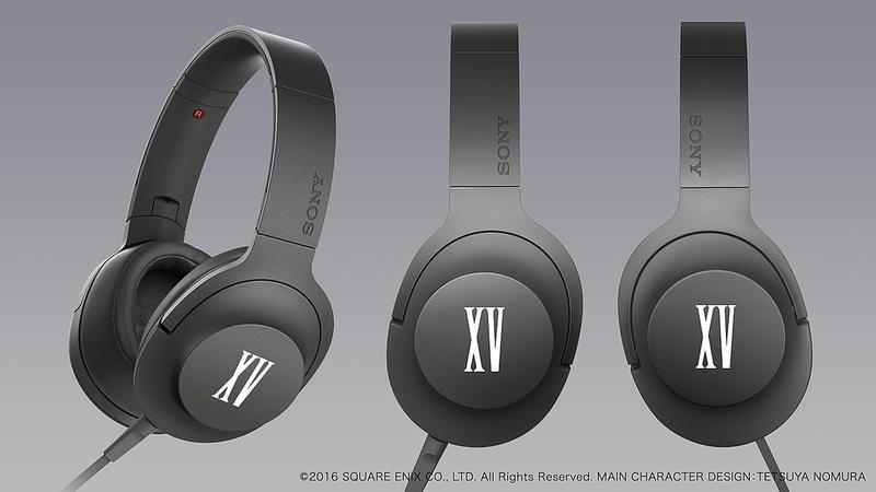 Sony ra mắt bộ sản phẩm âm thanh Final Fantasy XV, chỉ bán tại Nhật
