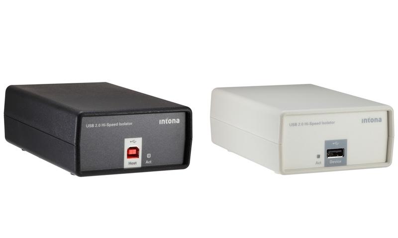 Intona USB 2.0 Hi-Speed Isolator - thiết bị chống nhiễu USB tốc độ cao sử dụng công nghệ FPGA