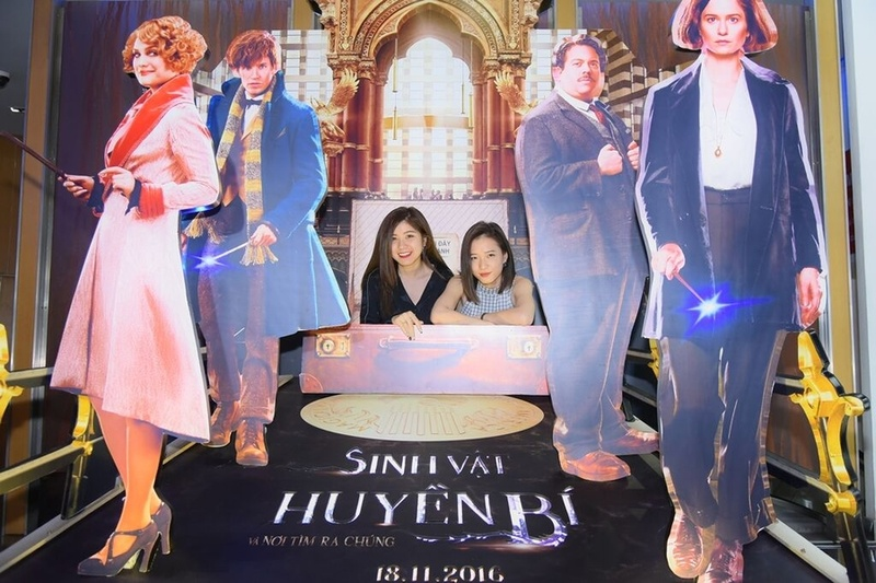 Sao Việt rầm rộ tham gia buổi công chiếu Sinh Vật Huyền Bí