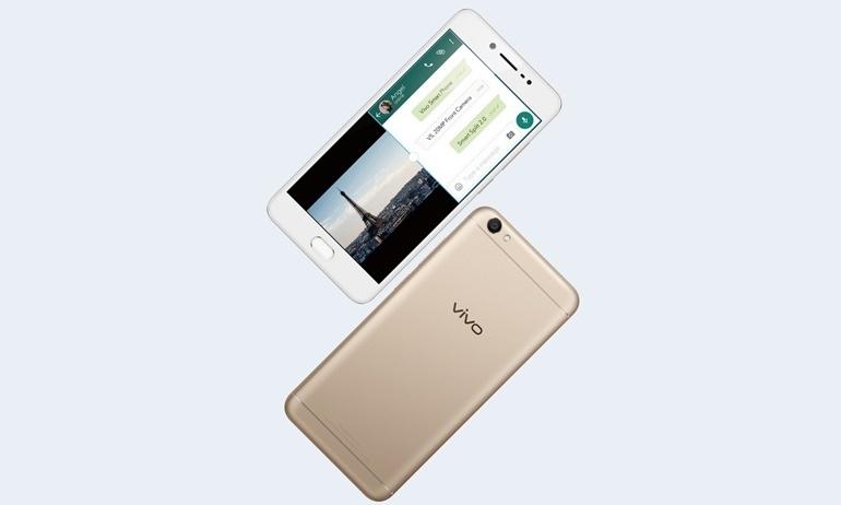 Vivo V5 ra mắt: chip DAC AK4346, camera tự sướng 20MP, giá 6 triệu