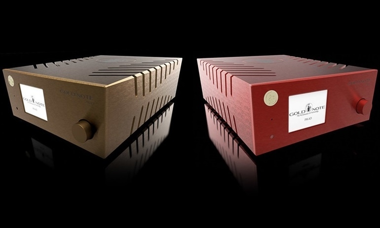 Gold Note ra mắt pre-amp phono PH-10: cực kỳ linh hoạt