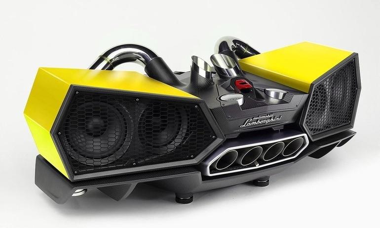 Mang Lamborghini vào phòng ngủ với bộ loa iXOOST Esavox giá hơn nửa tỉ
