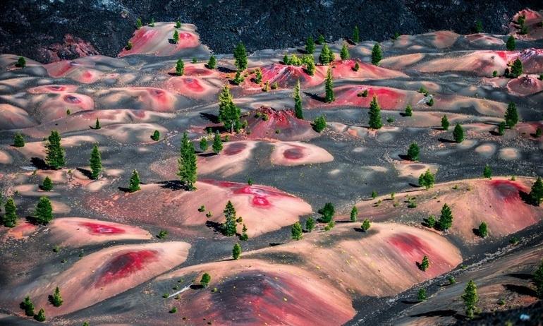 """20 vùng đất được ví như """"sao Hỏa"""" trên Trái Đất"""