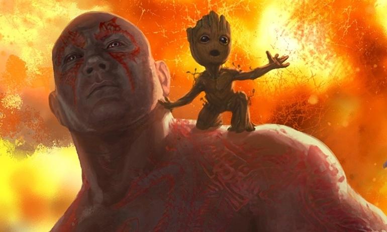 """Tiết lộ tạo hình cực đáng yêu của """"bé Groot"""" trong trailer Vệ Binh Dải Ngân Hà 2"""