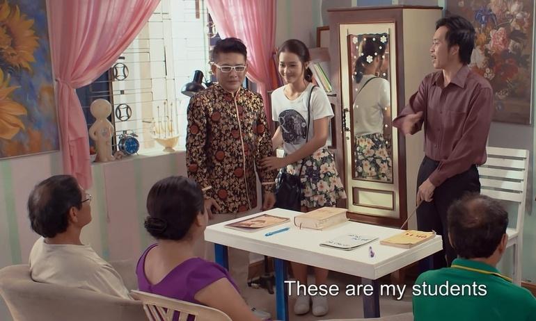 Hoài Linh bị xoay như chong chóng trong Nàng Tiên Có 5 Nhà