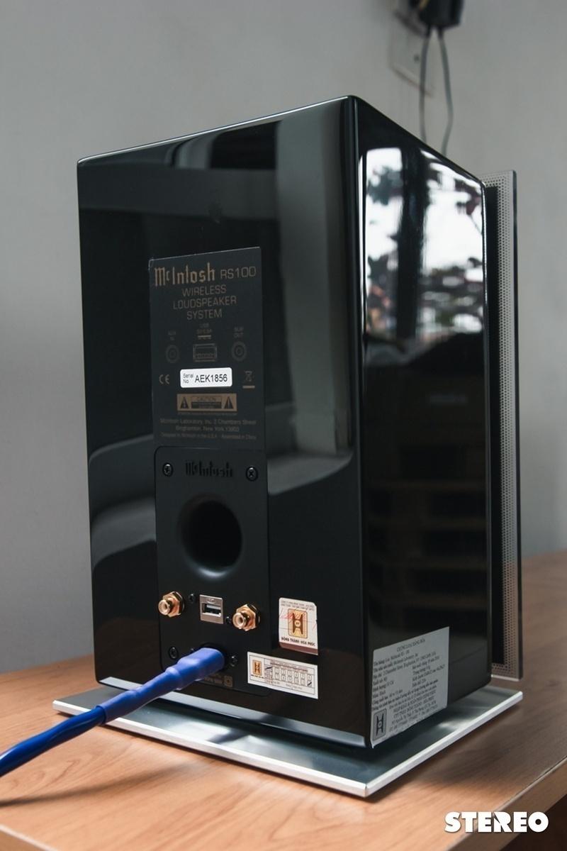Đánh giá RS100: Loa không dây đẳng cấp đến từ McIntosh