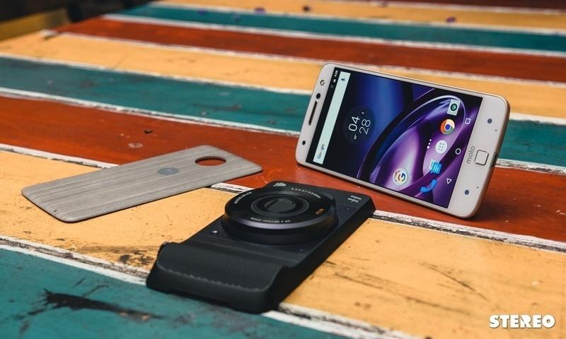 Trên tay Motorola Moto Z và phụ kiện Moto Mods: