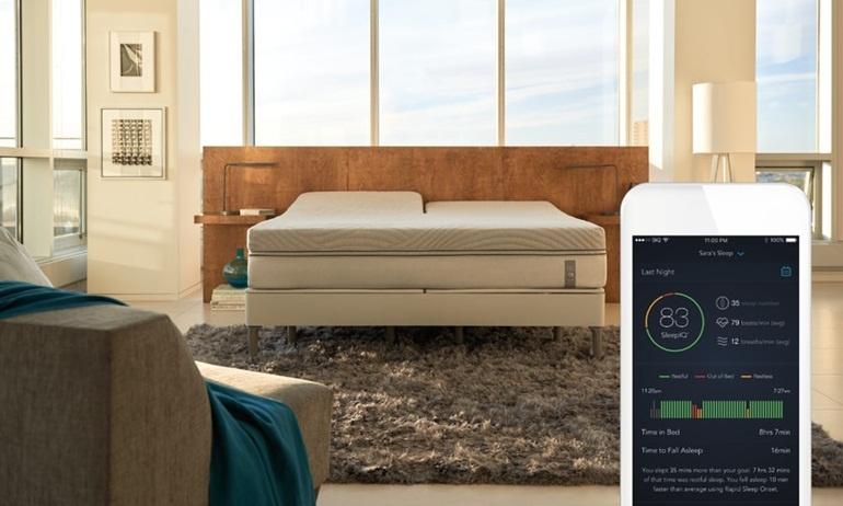Sleep Number 360 chiếc giường cảm ứng cho giấc ngủ đến nhẹ nhàng