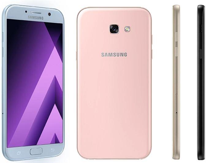 Galaxy A 2017 series ra mắt: Chống nước IP68, tự sướng 16MP,  thiết kế như S7