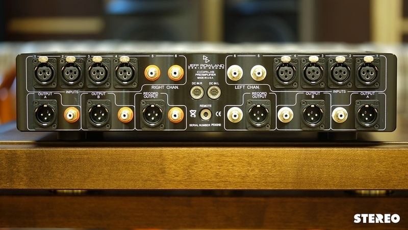 Preamp hi-end Jeff Rowland Corus