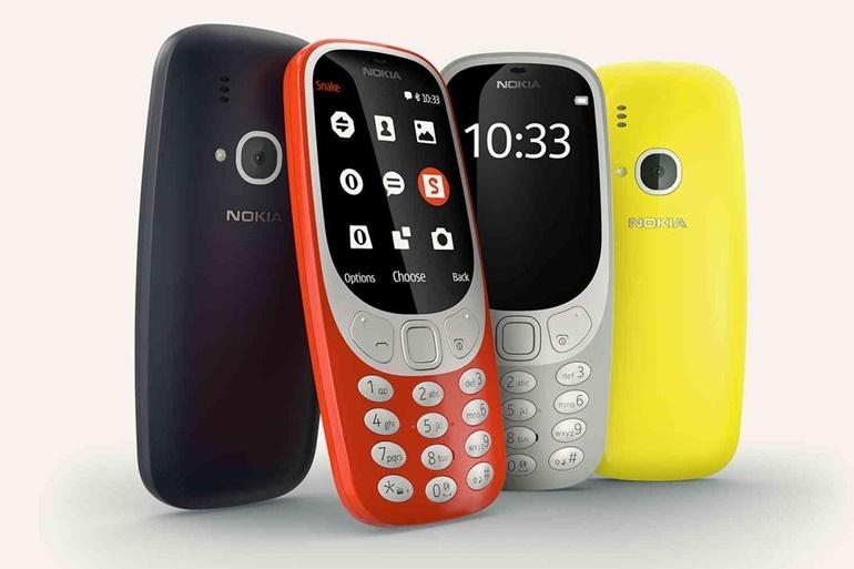"""[MWC 2017] """"Huyền thoại cục gạch"""" Nokia 3310 trở lại: pin 1 tháng, vẫn có rắn săn mồi"""