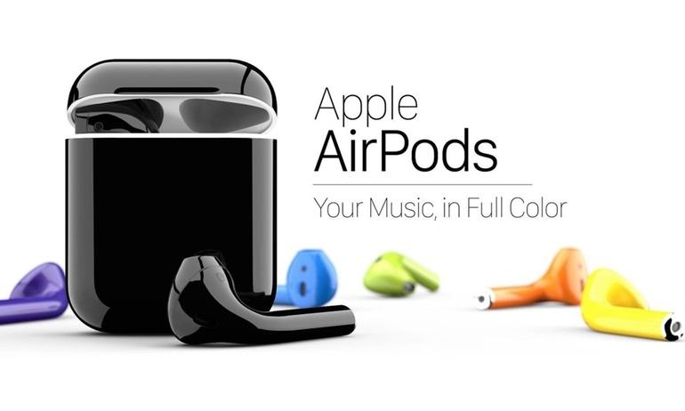 Chi $300 để có tai Apple AirPods đủ loại màu, bạn có thích không?