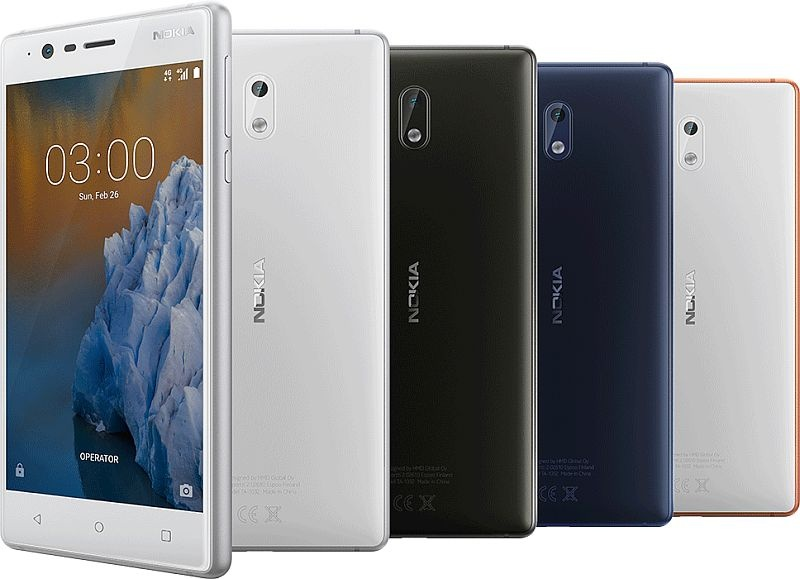 [MWC 2017] Nokia ra mắt smartphone 3, 5, 6 giá rẻ chạy Android 7