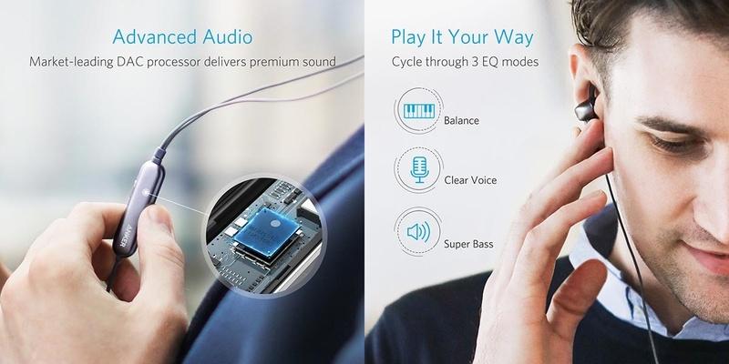Anker SoundBuds Digital IE10 - tai nghe sử dụng cổng Lightning tích hợp Equalizer giá tốt