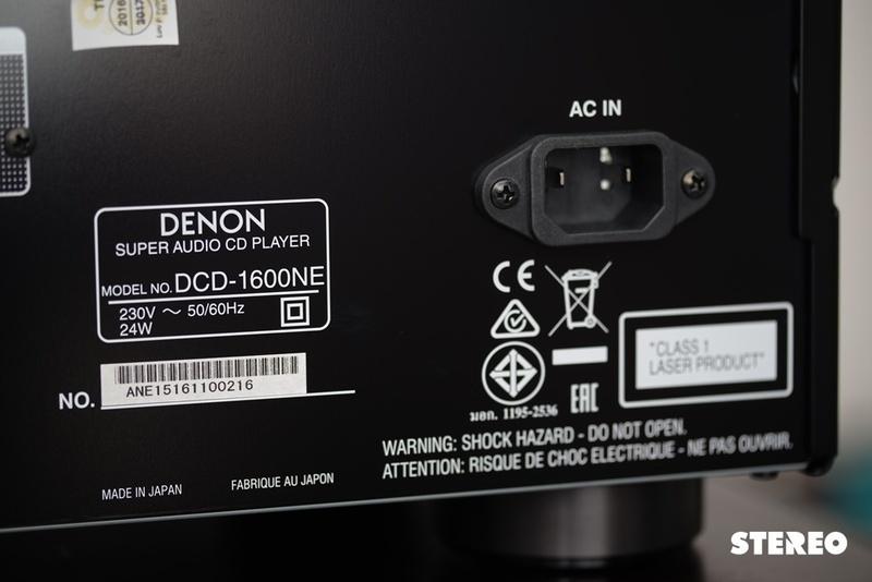 Trải nghiệm Denon PMA 1600NE/DCD 1600NE: Chững chạc như dàn máy lớn