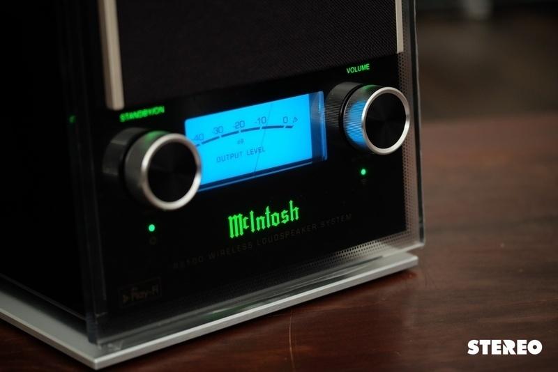 Nghe nhạc Hi-Res trên loa không dây hi-end McIntosh RS100