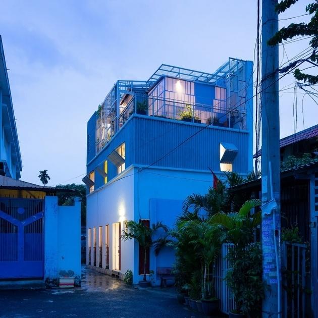 Vật liệu rẻ tiền vẫn tạo ra kiến trúc giàu thẩm mỹ, ngôi nhà ở Thủ Đức đã chứng minh được điều đó