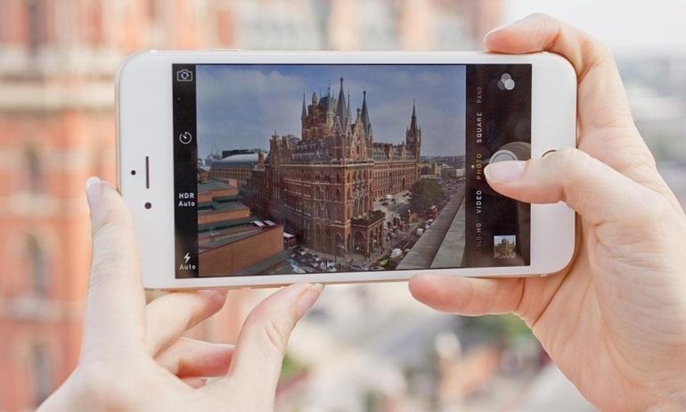 Không làm cách nào tắt được âm thanh khi chụp hình của iPhone Nhật, tại sao vậy?