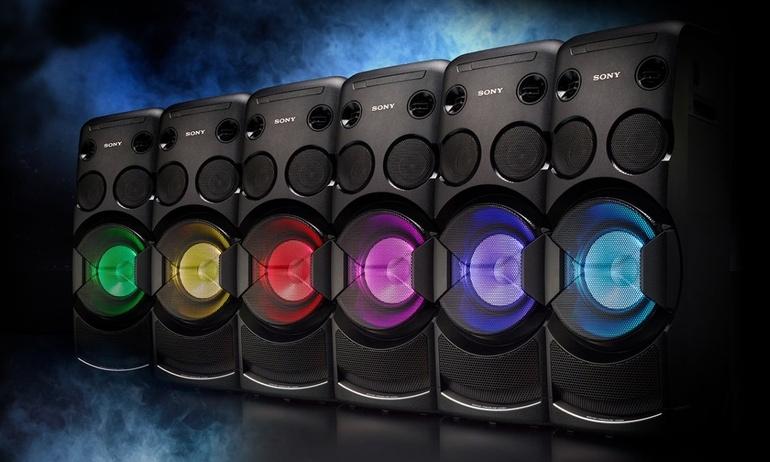 Sony trình làng hai bộ dàn âm thanh party mới, giá dự kiến từ 12 triệu đồng