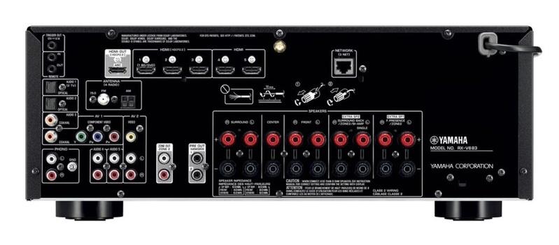 Yamaha công bố loạt receiver mới, tích hợp cả Tidal, Deezer và MusicCast