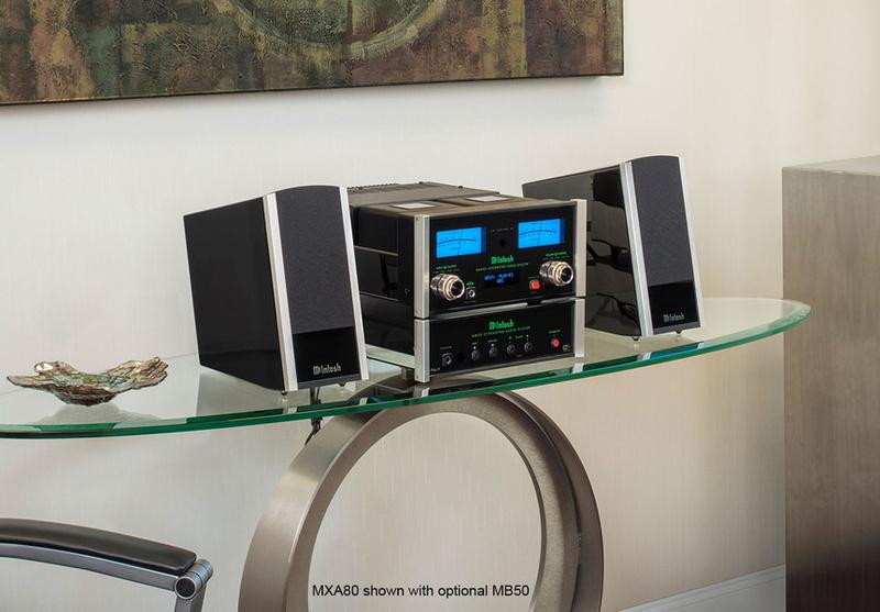 McIntosh giới thiệu bộ dàn hi-end mini MXA80