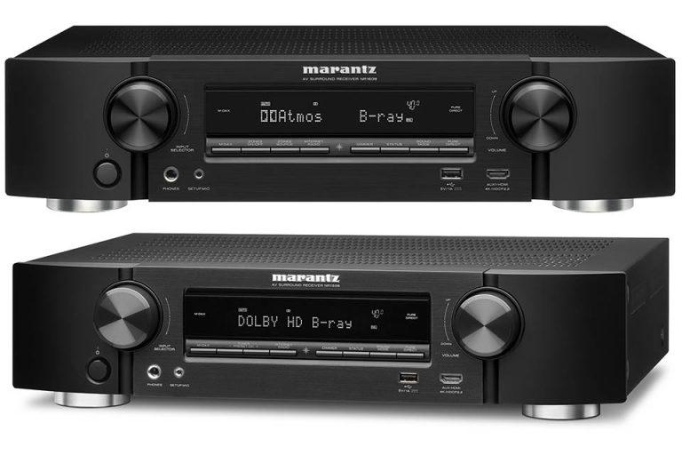 Marantz giới thiệu 2 AV receiver NR1608 & NR1508 thuộc dòng Slimline với thiết kế mỏng gọn