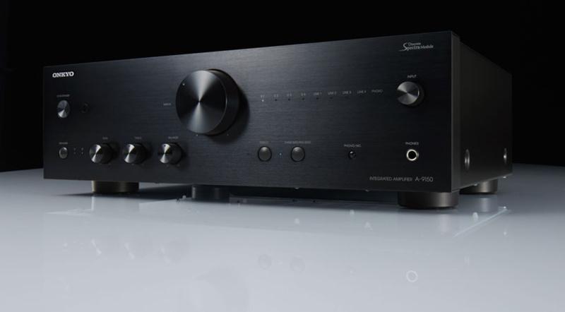 Onkyo giới thiệu ampli tích hợp A-9150, có cả mạch phono và DAC giải mã hi-res 32bit/768kHz
