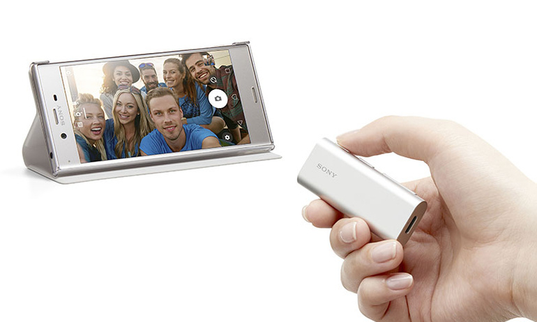 Sony SBH56: Tai nghe Bluetooth kèm loa ngoài và phím camera hỗ trợ tự sướng