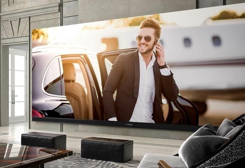 C Seed 262: TV 4K lớn nhất thế giới