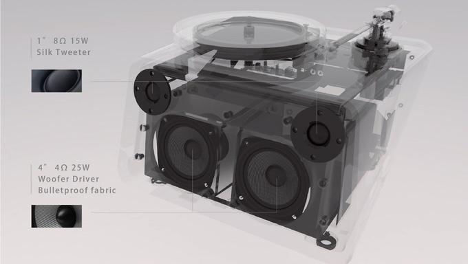Kickstarter Seed: mâm đĩa than tích hợp Wi-Fi, Bluetooth và cả loa stereo