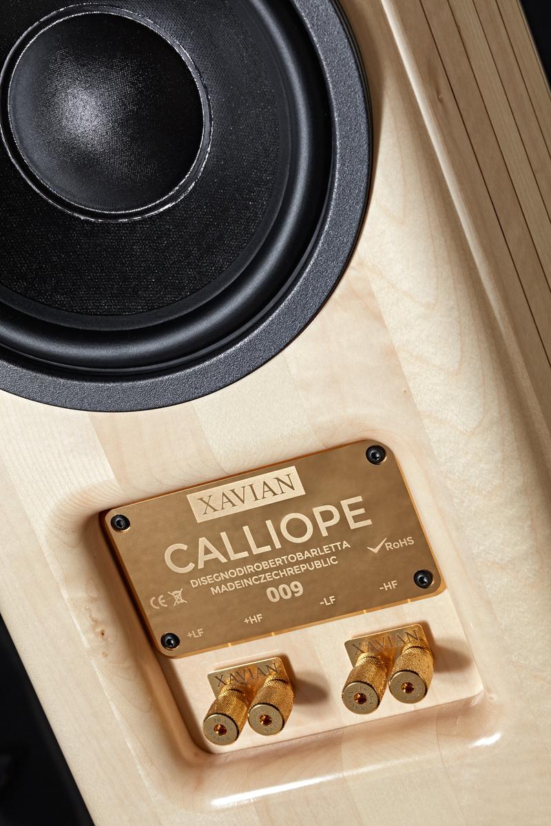 Calliope: loa hi-end mới từ Xavian