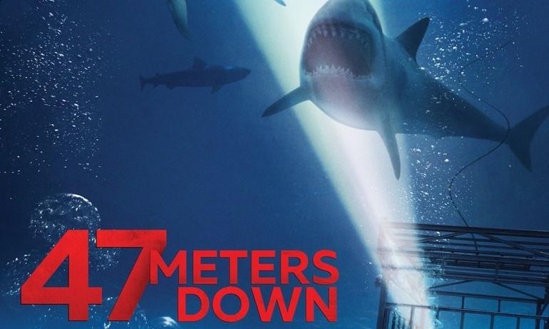 """Nghẹt thở với trò chơi tử thần """"ngắm cá mập"""" trong 47 Meters Down."""