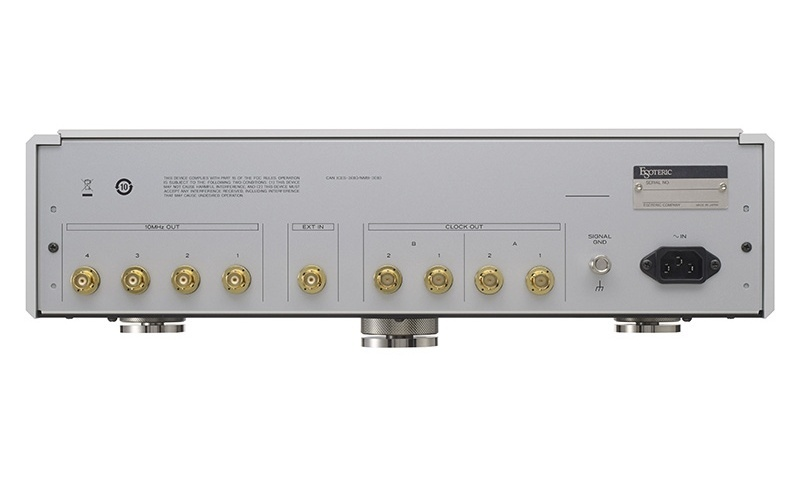 ESOTERIC giới thiệu Master Clock Generator G-01X