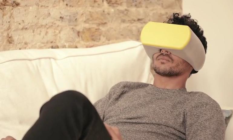 Kính VR tích hợp loa ngoài Opto: Phòng chiếu phim thu nhỏ ai cũng mơ ước